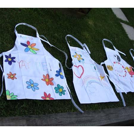 Kids Craft Decorate Apron