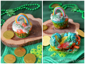 Rainbow-Cupcakes-decorated