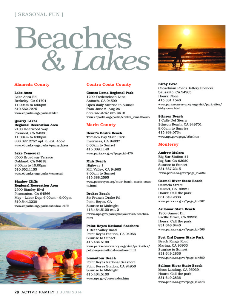 Beach & Lake Guide (1)