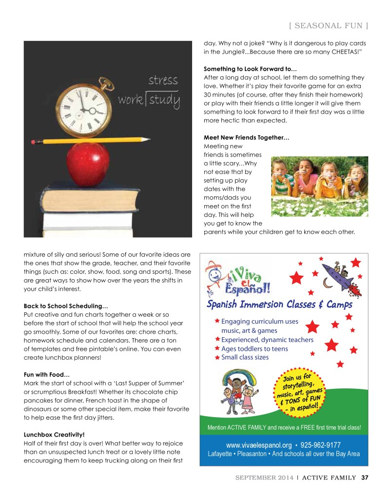 Back to School Traditions (2)