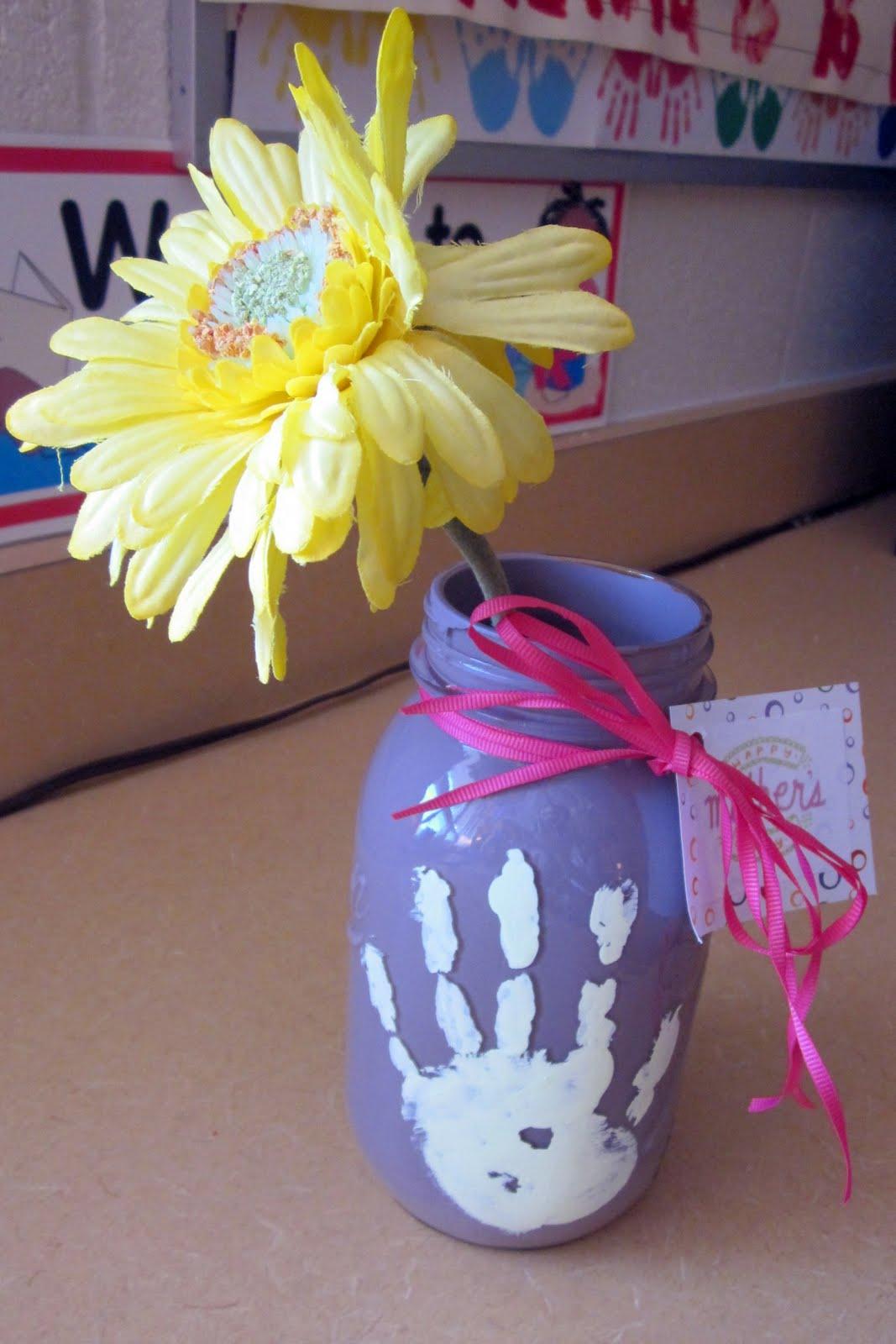 Mother S Day Craft Mason Jar Vase Active Family Magazine